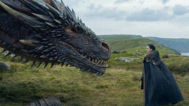 как зовут драконов в игре престолов