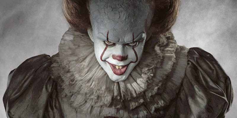Фото клоуна из фильма Оно