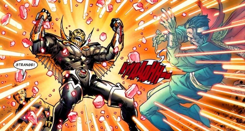 танос против доктора стрэндж
