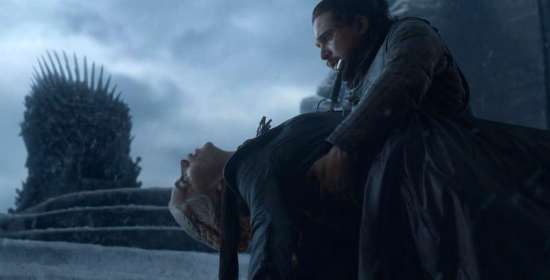 кто умер в финале игры престолов последняя серия