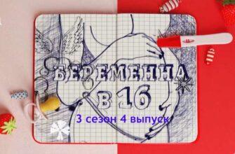Беременна в 16. Россия 3 сезон 4 выпуск