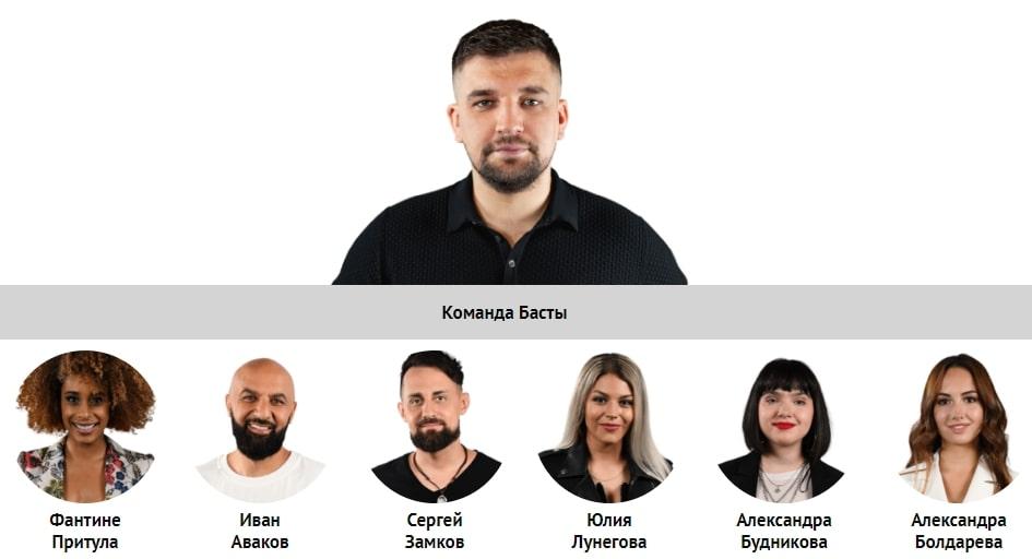 Состав команды Басты