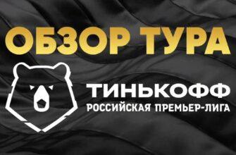 Обзор 12-го тура: Тинькофф Российская премьер-лига