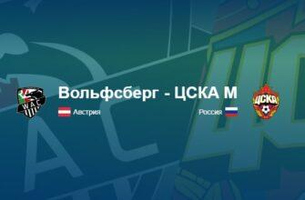 Вольфсберг - ЦСКА обзор матча