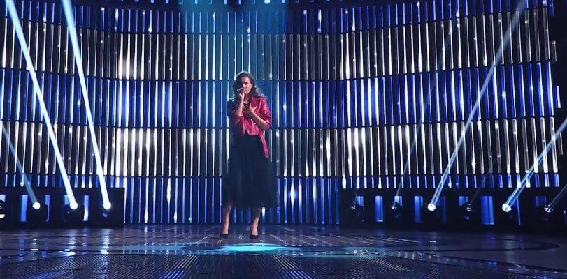 Выступление: Юлия Гречишкина в 4 сезоне шоу «Ты супер!»