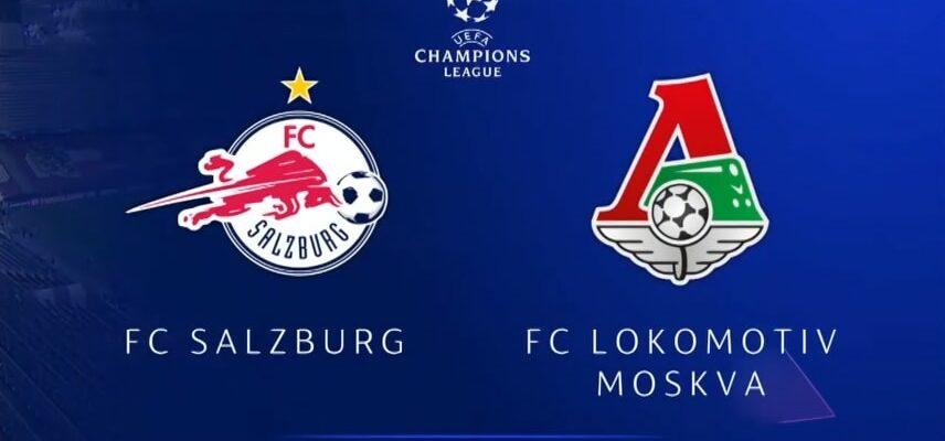 Зальцбург - Локомотив от 21.10.2020