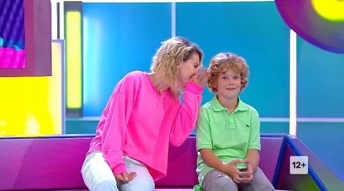 Анна Старшенбаум с сыном Ваней