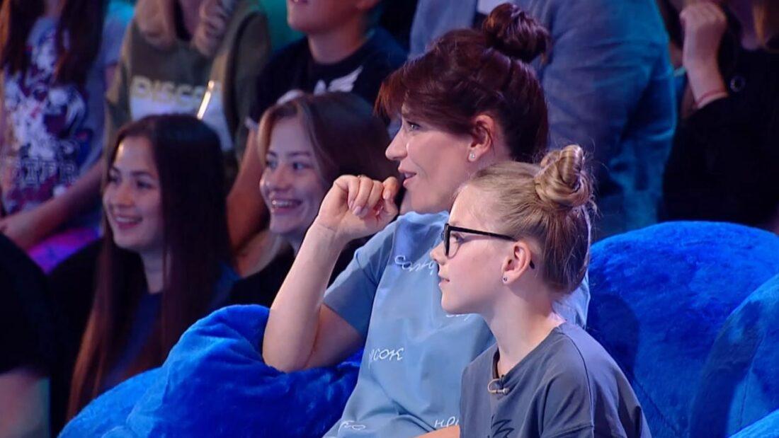 Екатерина Волкова и ее дочь Лиза на шоу «Ты как я»
