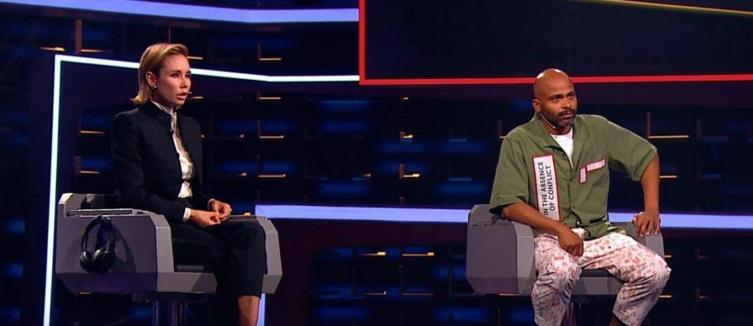 Ляйсан Утяшева и Мигель в шоу «Двое на миллион»