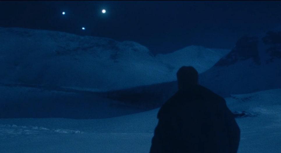«Перевал Дятлова» - светящиеся шары в небе