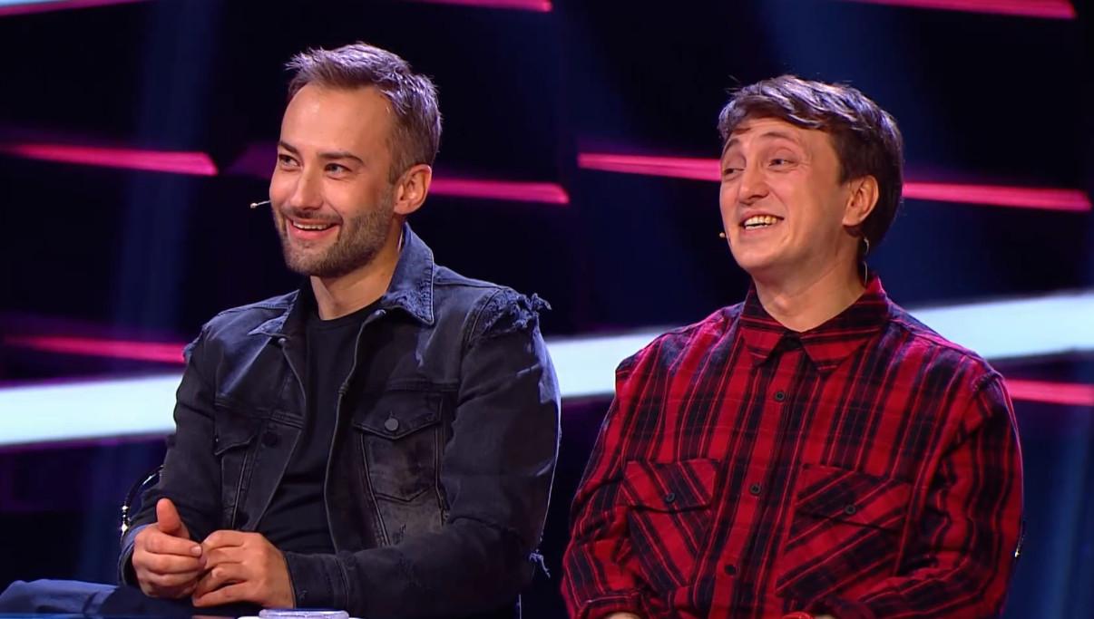 Шепелев и Дорохов в шоу Где логика