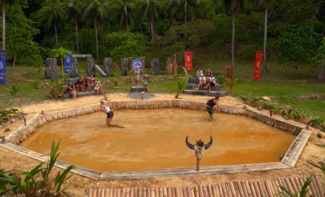 Сражение в грязевом бассейне