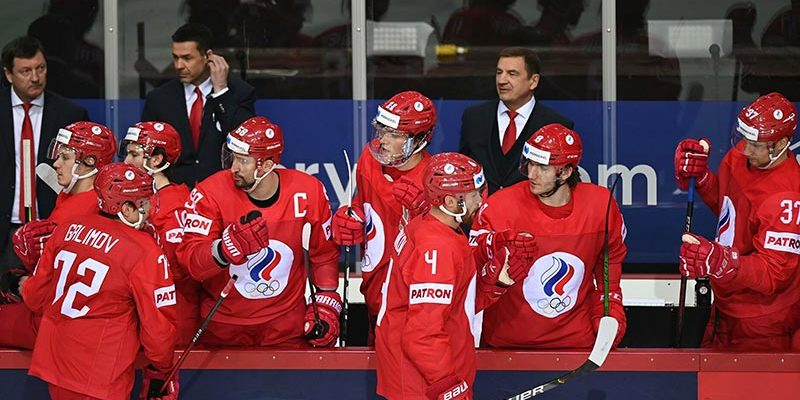 Хоккей Россия-Канада