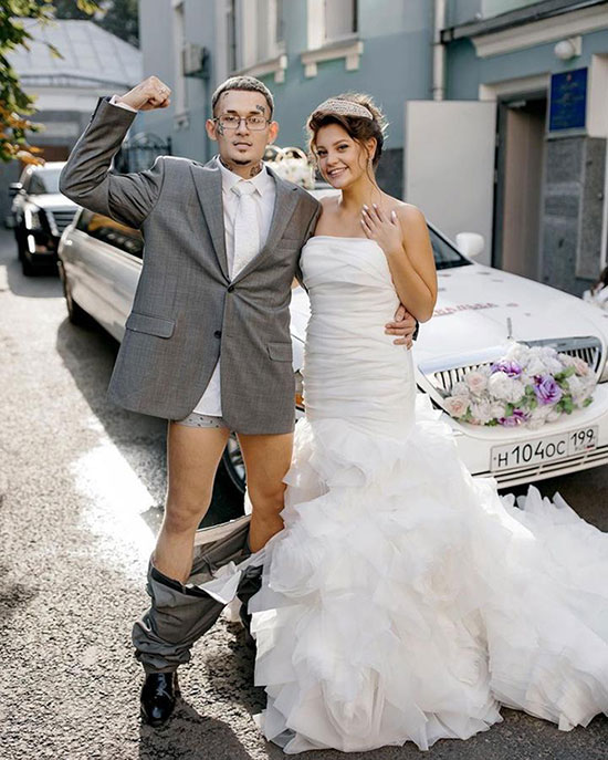 Моргенштерн женился